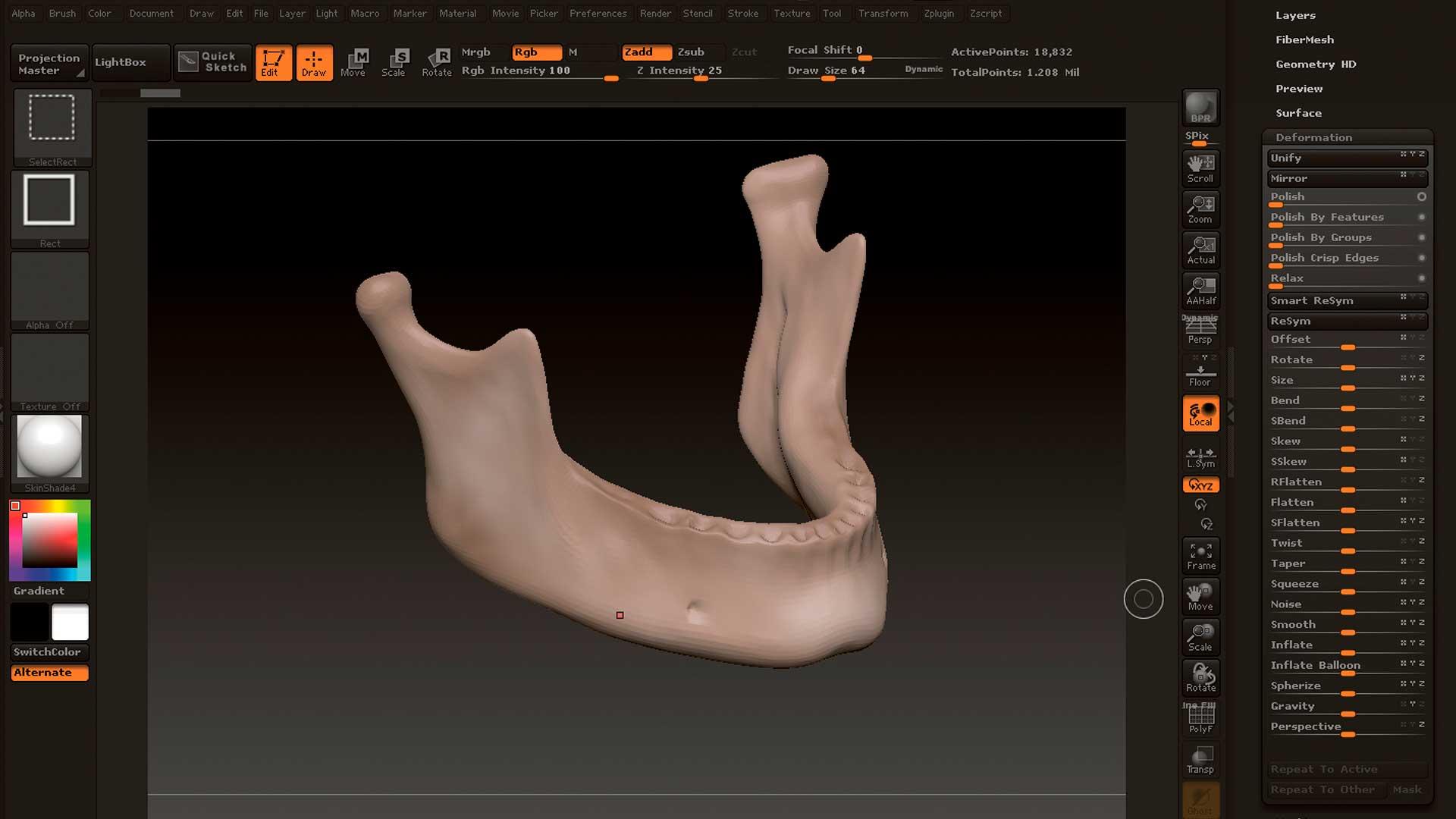 Modelado de piezas impresión 3D